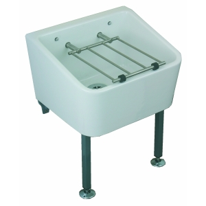 Twyford Cleaner Sink Including Grating 65mm x 400mm FC1034WH
