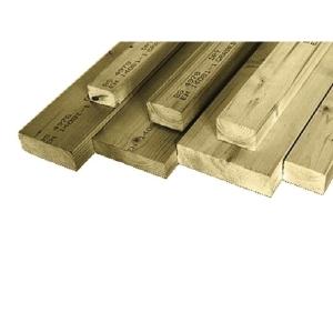 C16 Kiln Dried Regularised Sawn Treated Timber 47mm x 75mm