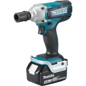 Makita LXT 18V Cordless Impact Wrench 2 X 4.0Ah Li-Ion Batteries DTW190RMJ