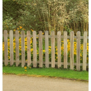 Pressure Treated Heavy Duty Pale Fence Panel 6ft x 3ft (1.8m x 0.9m) - Pack of 5