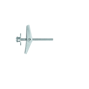 Rawlplug Metal Spring Toggle + Screw 50mm x 12mm Pack of 6