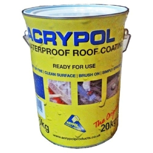 Acrypol Felt + Waterproof Roof Coating 20kg Grey