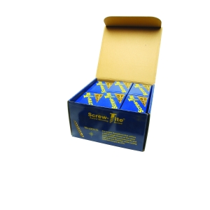 TITE-FIX Screw Tite Trade Pack 10 Sizes 20mm-100mm 750 Screws