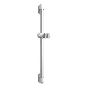 iflo Chrome & White Shower Riser Rail 650mm