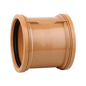 Osmadrain Drainage Double Socket Pipe Coupler 110mm