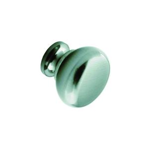 Plain Knob (Stainless Steel Effect) 30mm