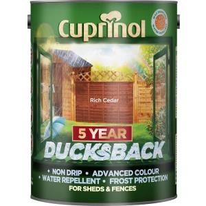 Cuprinol Ducksback Rich Cedar 5L