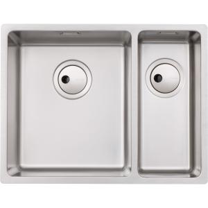 Abode Matrix R15 1.5 Bowl Undermount Stainless Steel Left Hand Drainer Kitchen Sink