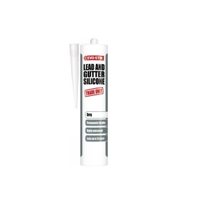 Evo-stik Trade Only Lead & Gutter Silicone Sealant Grey