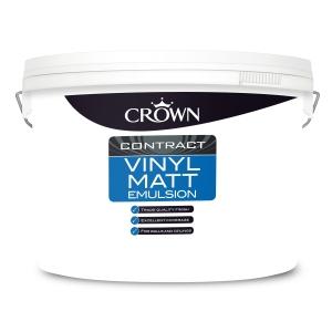 Crown Contract Crown Vinyl Matt Brilliant White 10L