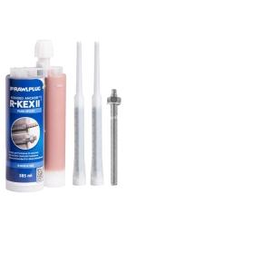 Rawlplug Resin Studs (Inc Nuts & Washers) 8mm x 110mm Zp Pk 5