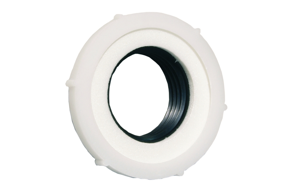 4Trade Basin Waste Seal 1 x 32mmm Tapered Washer 1x Foam Washer & Nut