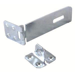 4Trade Safety Hasp & Staple Galvanised 75mm