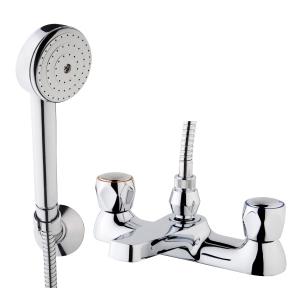 iflo Base Bath Shower Mixer Tap Chrome