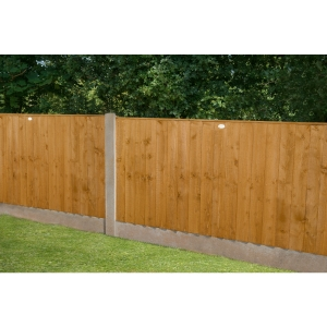 6ft x 4ft (1.83m x 1.23m) Featheredge Fence Panel Pack