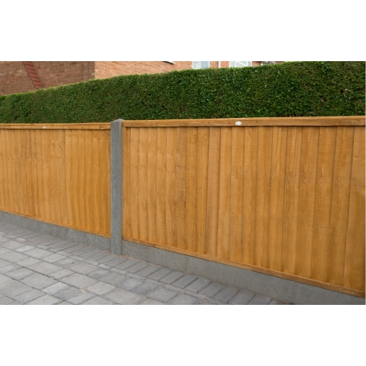 6ft x 4ft 1.83m x 1.22m Closeboard Fence Panel - Pack of 4