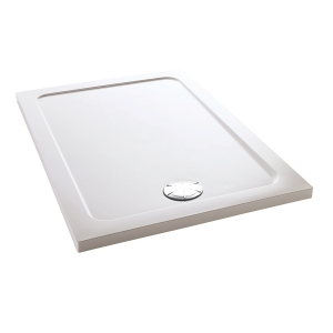 Mira Flight Safe 1.1697.007.AS Low Level Shower Tray 0 Upstands 800 x 1000mm