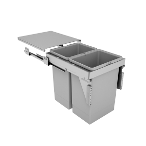 400mm Stanto Pull Out Bin - Door Mounted