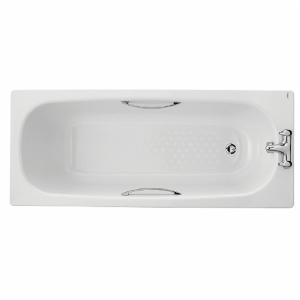 Twyford Celtic Steel Bath White 1700 (inc grips) BL1572WH