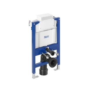 Duplo WC L Concealed Structure for Toilet with Dual Flush Cistern (DN90 + DN100) A890121010