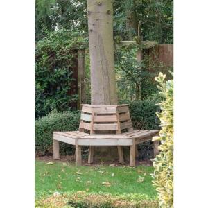 Timber Tree Seat Pressure Treated 750 x 850 x 1660mm