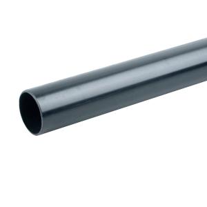 Osma Waste solvent weld plain ended pipe black 40mm