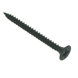 4Trade Drywall Screw Bugle Head 3.5 x 32mm Black Box 1000