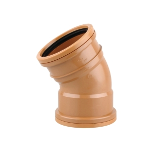 OsmaDrain Double Socket Short Radius Bend 30° 160mm 6D566