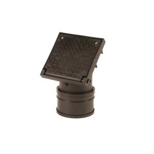 OsmaDrain Single Socket Square Top Rodding Point 110mm 4D361