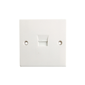 4TRADE Telephone Wall Plate Socket