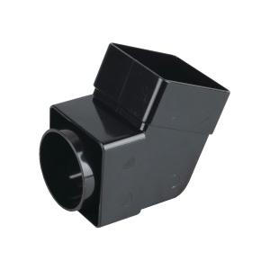 Osma SquareLine 4T825 Offset Bend Socket 61mm Black