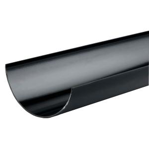 Osma RoundLine 0T074 Gutter 112mm Black 4M