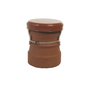 Mad Cowl Mad Capping Cowl Powder Coated Terracotta