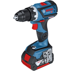 Bosch Gsb 18 V-60 C Brushless 18V Combi with 2 x 5.0 Ah Batteries and Charger in A L-BOXX