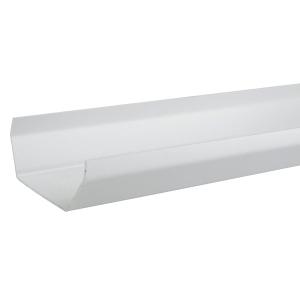 Osma SquareLine 4T874 Gutter 100mm White 4M