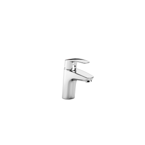 Monodin-n Basin Mixer with Smooth Body and 1/2in Flexible Tails