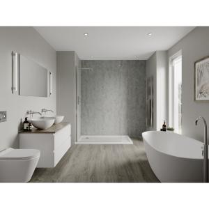Multipanel Linda Barker Bathroom Wall Panel Hydrolock Concrete Elements 8830