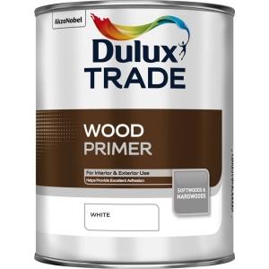 Dulux Wood Primer White 1L