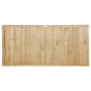 Pressure Treated Closeboard Fence Panel 6ft x 3ft 1.83m x 0.91m Pack 3