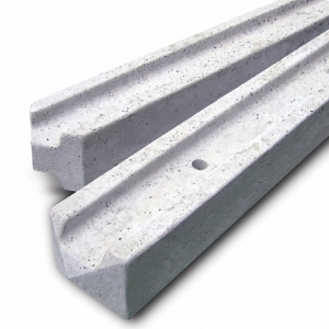 Concrete Fence Post Slotted End 7ft - Pack of 6