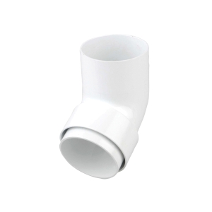 Osma RoundLine 0T026 Offset Bend Spigot 68mm White