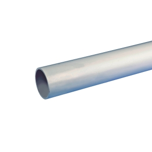 Osma Waste push-fit plain ended pipe grey 40mm x 3m