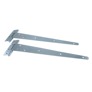 4Trade Tee Hinge Medium Zinc Plated 400mm Pack 2