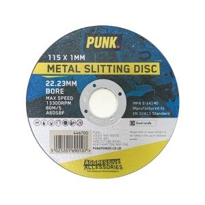 Punk 115mm x 1mm Metal Cutting Disc