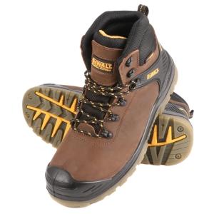 DeWalt Newark Safety Boots Brown