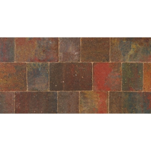 Bradstone Woburn Original Concrete Block Paving Autumn 134mm x 134mm x 50mm