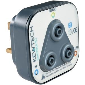 Kewcheck R2 Socket Testing Adaptor 126 x 81 x 65mm