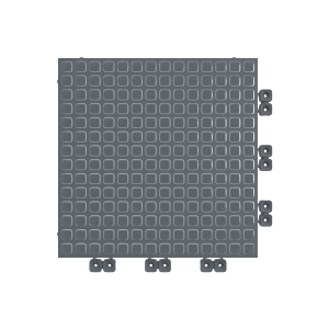 Versoflor Taskflor Flooring Tile Graphite Grey 9 Pack