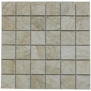 Raegan Alberta Glazed Porcelain Mosaic Wall and Floor 48 x 48mm