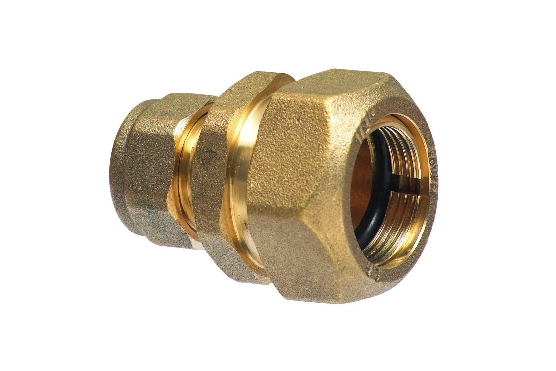 Compression 7lb Copper to Lead Coupling 12 x 15mm